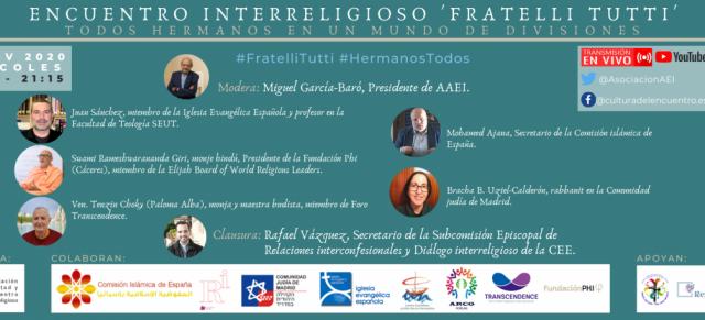 Encuentro Interreligioso 'Fratelli tutti' | Todos hermanos en un mundo de divisiones