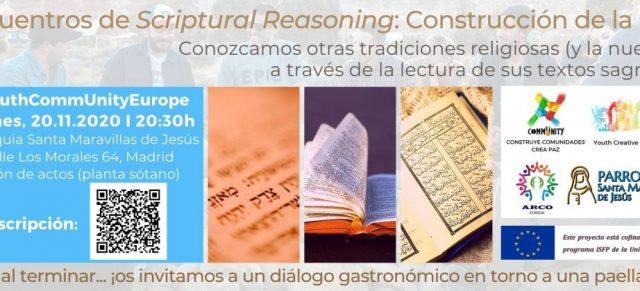 Encuentros de Scriptural Reasoning: Construcción de la Paz